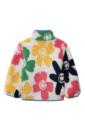 Детская куртка STELLA MCCARTNEY разноцветного цвета, арт. 603307/SRK63 | Фото 2 (Материал подклада: Синтетический материал; Материал внешний: Синтетический материал; Рукава: Длинные; Кросс-КТ: Сезон: демисезон)