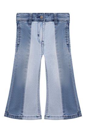 Детские джинсы STELLA MCCARTNEY голубого цвета, арт. 603297/SRK66   Фото 1 (Материал внешний: Хлопок; Кросс-КТ: джинсы)