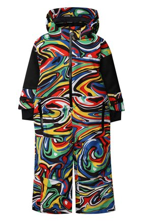 Детский утепленный комбинезон STELLA MCCARTNEY разноцветного цвета, арт. 603230/SRK10 | Фото 1 (Материал внешний: Синтетический материал; Материал подклада: Синтетический материал; Рукава: Длинные; Девочки Кросс-КТ: Комбинезон-верхняя одежда; Кросс-КТ: Сезон: зима)