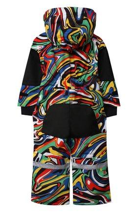 Детский утепленный комбинезон STELLA MCCARTNEY разноцветного цвета, арт. 603230/SRK10 | Фото 2 (Материал внешний: Синтетический материал; Материал подклада: Синтетический материал; Рукава: Длинные; Девочки Кросс-КТ: Комбинезон-верхняя одежда; Кросс-КТ: Сезон: зима)