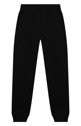 Детские хлопковые джоггеры POLO RALPH LAUREN черного цвета, арт. 323859612 | Фото 2 (Материал внешний: Хлопок; Мальчики Кросс-КТ: Брюки-спорт)