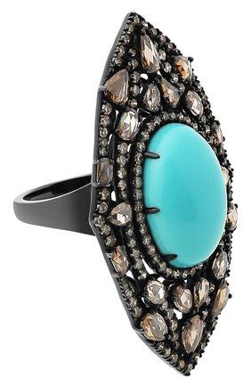 Женские кольцо SUTRA JEWELS бесцветного цвета, арт. SJR682 | Фото 1 (Материал сплава: Белое золото; Драгоценные камни: Бриллианты, Другие)