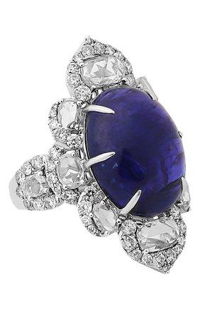 Женские кольцо SUTRA JEWELS бесцветного цвета, арт. SJR1144 | Фото 1 (Материал сплава: Белое золото; Драгоценные камни: Бриллианты)