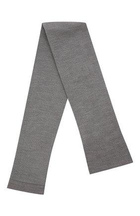Женские леггинсы из шерсти и хлопка FALKE светло-серого цвета, арт. 48577 | Фото 1 (Материал внешний: Шерсть)