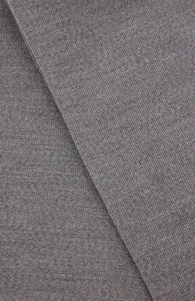 Женские леггинсы из шерсти и хлопка FALKE светло-серого цвета, арт. 48577 | Фото 2 (Материал внешний: Шерсть)