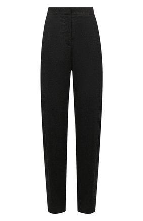 Женские брюки из шерсти и кашемира GIORGIO ARMANI серого цвета, арт. 1WHPP0IR/T016Z | Фото 1 (Материал внешний: Шерсть; Длина (брюки, джинсы): Удлиненные; Женское Кросс-КТ: Брюки-одежда; Стили: Кэжуэл; Силуэт Ж (брюки и джинсы): Широкие)