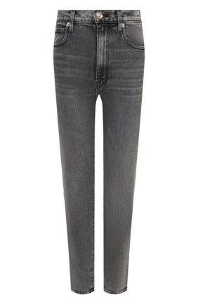 Женские джинсы SLVRLAKE серого цвета, арт. PF21/BTNJ701U/HVMN | Фото 1 (Длина (брюки, джинсы): Стандартные; Материал внешний: Хлопок; Кросс-КТ: Деним; Детали: Потертости; Стили: Гранж; Силуэт Ж (брюки и джинсы): Прямые)