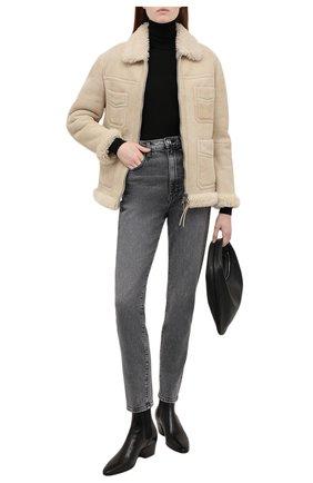 Женские джинсы SLVRLAKE серого цвета, арт. PF21/BTNJ701U/HVMN | Фото 2 (Длина (брюки, джинсы): Стандартные; Материал внешний: Хлопок; Кросс-КТ: Деним; Детали: Потертости; Стили: Гранж; Силуэт Ж (брюки и джинсы): Прямые)