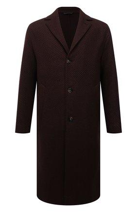 Мужской кашемировое пальто LORO PIANA коричневого цвета, арт. FAL6993 | Фото 1 (Длина (верхняя одежда): До колена; Материал внешний: Шерсть, Кашемир; Рукава: Длинные; Мужское Кросс-КТ: пальто-верхняя одежда; Застежка: Пуговицы; Стили: Классический)