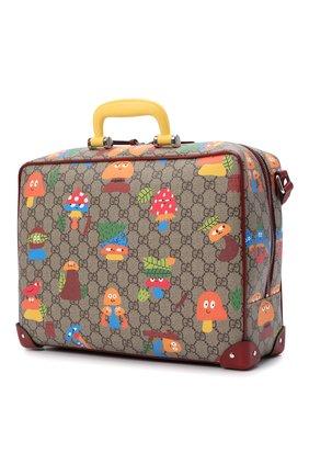 Детская сумка GUCCI разноцветного цвета, арт. 664152/22BAN   Фото 2 (Материал: Экокожа)