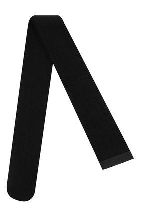 Женские хлопковые колготки VERSACE черного цвета, арт. 1001545/1A01198   Фото 1 (Материал внешний: Хлопок)