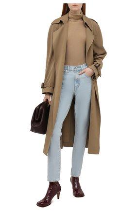 Женские джинсы SLVRLAKE голубого цвета, арт. PF21/R0XJ707S/CLSK | Фото 2 (Материал внешний: Хлопок; Длина (брюки, джинсы): Стандартные; Стили: Кэжуэл; Кросс-КТ: Деним; Силуэт Ж (брюки и джинсы): Слим)