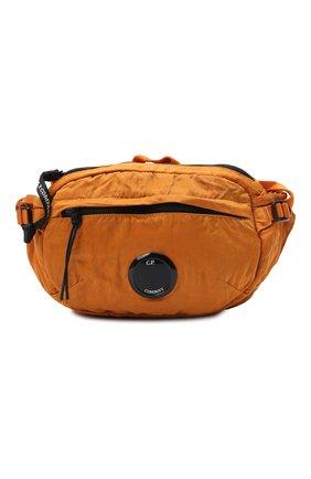 Мужская текстильная поясная сумка C.P. COMPANY оранжевого цвета, арт. 11CMAC112A-005269G | Фото 1 (Материал: Текстиль)