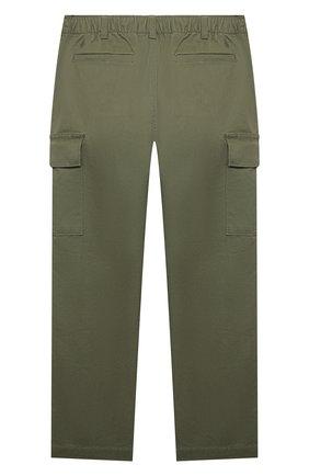 Детские хлопковые брюки POLO RALPH LAUREN хаки цвета, арт. 322846928   Фото 2 (Материал внешний: Хлопок; Мальчики Кросс-КТ: Брюки-одежда)
