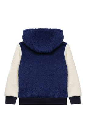 Детский худи POLO RALPH LAUREN синего цвета, арт. 321853909 | Фото 2 (Материал внешний: Синтетический материал; Рукава: Длинные; Мальчики Кросс-КТ: Толстовка-одежда)