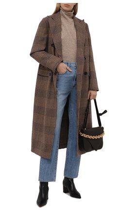 Женский кашемировый пуловер POLO RALPH LAUREN темно-бежевого цвета, арт. 211847038 | Фото 2 (Длина (для топов): Стандартные; Материал внешний: Шерсть, Кашемир; Рукава: Длинные; Женское Кросс-КТ: Пуловер-одежда; Стили: Кэжуэл)