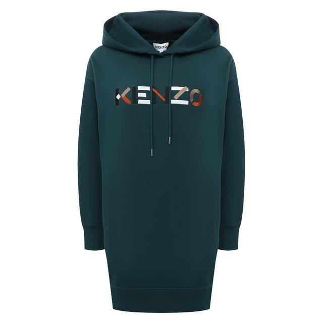 Хлопковое платье Kenzo 12339924