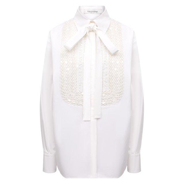 Хлопковая блузка Valentino 12339994