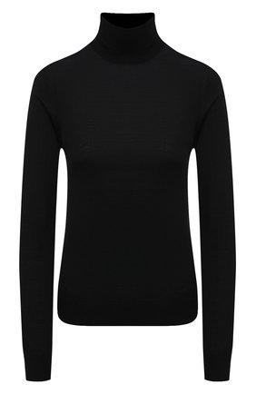 Женская шерстяная водолазка JIL SANDER черного цвета, арт. JSWT753301-WTY20158 | Фото 1 (Материал внешний: Шерсть; Женское Кросс-КТ: Водолазка-одежда; Рукава: Длинные; Длина (для топов): Стандартные; Стили: Кэжуэл)