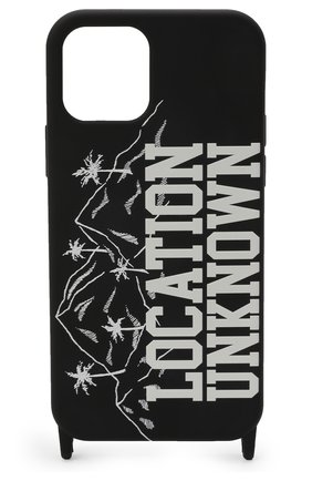 Чехол для iphone 12/12 pro PALM ANGELS черного цвета, арт. PMPA034F21PLA0011001 | Фото 1
