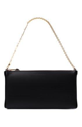 Женская сумка oscar wilde small JW ANDERSON черного цвета, арт. HB0408 LA0022 | Фото 1 (Материал: Натуральная кожа; Размер: small)