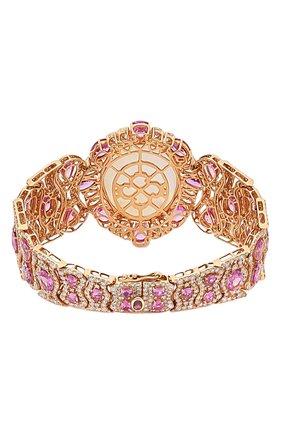Женский браслет SUTRA JEWELS бесцветного цвета, арт. SJBR467 | Фото 2 (Драгоценные камни: Бриллианты, Сапфиры, Другие; Материал сплава: Розовое золото)