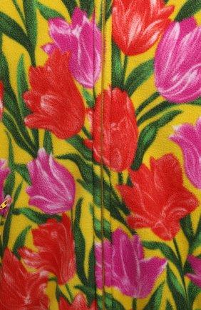 Женская куртка BALENCIAGA желтого цвета, арт. 678409/TLLB5 | Фото 5 (Кросс-КТ: Куртка; Рукава: Длинные; Длина (верхняя одежда): До середины бедра; Материал внешний: Синтетический материал; Стили: Спорт-шик; Материал подклада: Синтетический материал)