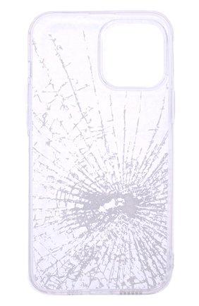 Чехол для iphone 13 pro max MISHRABOO прозрачного цвета, арт. Broken 13 Pro Max | Фото 2