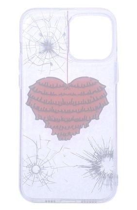 Чехол для iphone 13 pro max MISHRABOO прозрачного цвета, арт. Heart 13 Pro Max | Фото 2