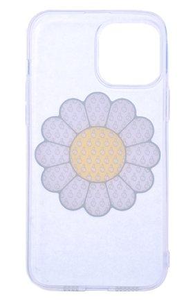 Чехол для iphone 13 pro max MISHRABOO прозрачного цвета, арт. Ромашка 13 Pro Max | Фото 2