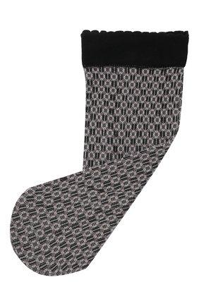 Женские носки FALKE черного цвета, арт. 41448 | Фото 1 (Материал внешний: Синтетический материал)