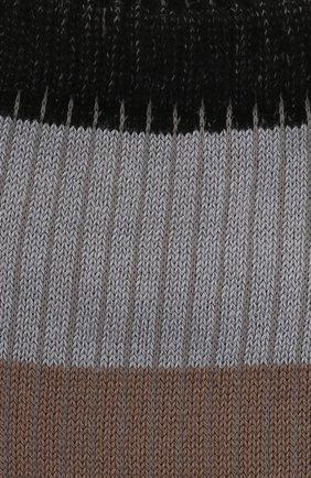 Женские хлопковые носки FALKE черного цвета, арт. 46427 | Фото 2 (Материал внешний: Хлопок)