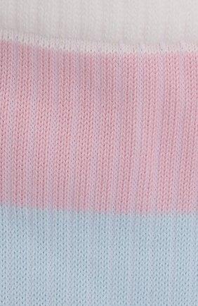 Женские хлопковые носки FALKE белого цвета, арт. 46427 | Фото 2 (Материал внешний: Хлопок)