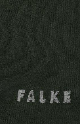 Женские носки FALKE зеленого цвета, арт. 47673 | Фото 2 (Материал внешний: Синтетический материал, Хлопок)
