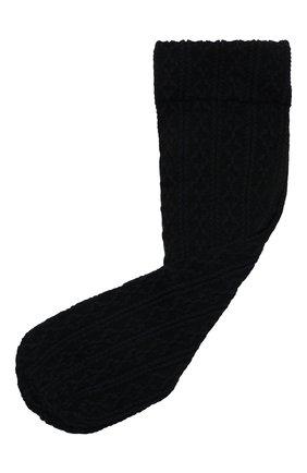 Женские носки FALKE черного цвета, арт. 41443 | Фото 1 (Материал внешний: Синтетический материал)
