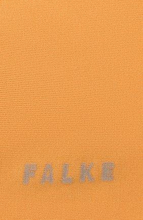Женские носки FALKE оранжевого цвета, арт. 47673 | Фото 2 (Материал внешний: Хлопок, Синтетический материал)