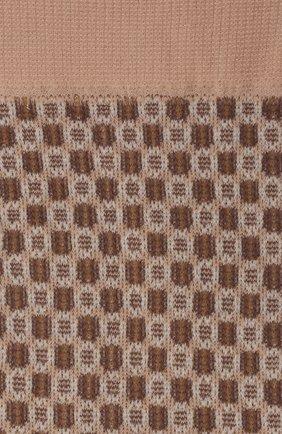 Женские носки FALKE бежевого цвета, арт. 41448 | Фото 2 (Материал внешний: Синтетический материал)
