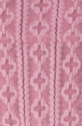 Женские носки FALKE светло-розового цвета, арт. 41443 | Фото 2 (Материал внешний: Синтетический материал)
