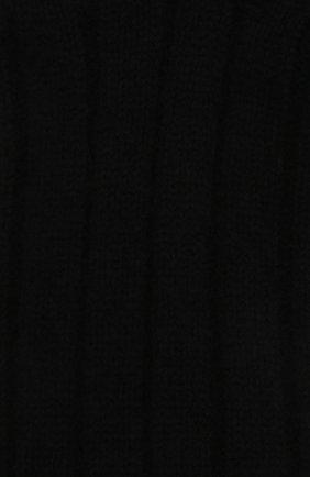 Женские кашемировые носки BOTTEGA VENETA черного цвета, арт. 670179/V0900   Фото 2 (Материал внешний: Шерсть, Кашемир)
