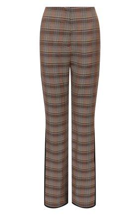Женские брюки из вискозы NANUSHKA разноцветного цвета, арт. NW21FWPA01465 | Фото 1 (Материал внешний: Вискоза; Длина (брюки, джинсы): Стандартные; Женское Кросс-КТ: Брюки-одежда; Силуэт Ж (брюки и джинсы): Расклешенные; Стили: Кэжуэл)