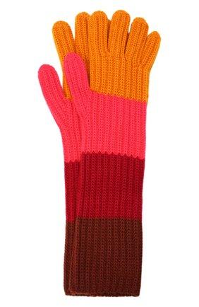 Женские кашемировые перчатки LORO PIANA розового цвета, арт. FAL8961 | Фото 1 (Материал: Шерсть, Кашемир)