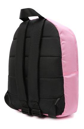 Детская рюкзак MSGM KIDS розового цвета, арт. MS027729   Фото 2 (Материал: Текстиль)