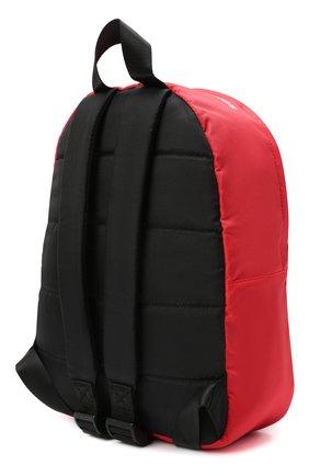 Детская рюкзак MSGM KIDS красного цвета, арт. MS027729   Фото 2 (Материал: Текстиль)