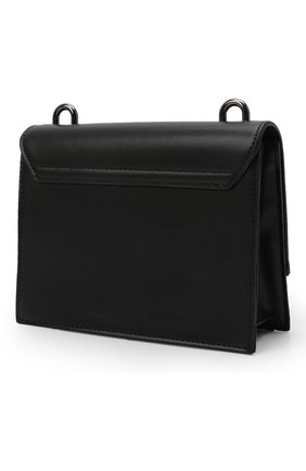 Детская сумка MSGM KIDS черного цвета, арт. MS027727   Фото 2 (Материал: Экокожа)