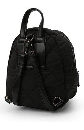 Детская рюкзак MSGM KIDS черного цвета, арт. MS027724   Фото 2 (Материал: Текстиль)