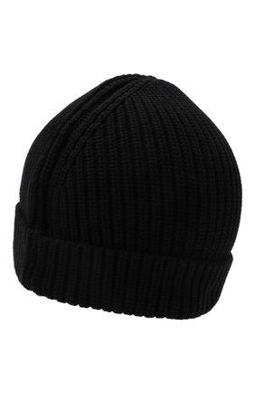 Детского хлопковая шапка OFF-WHITE черного цвета, арт. 0BLC003F21KNI001 | Фото 2 (Материал: Хлопок, Текстиль)