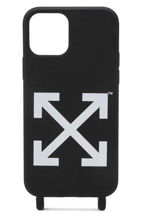 Чехол для iphone 12 pro max OFF-WHITE черного цвета, арт. 0MPA035F21PLA001 | Фото 2