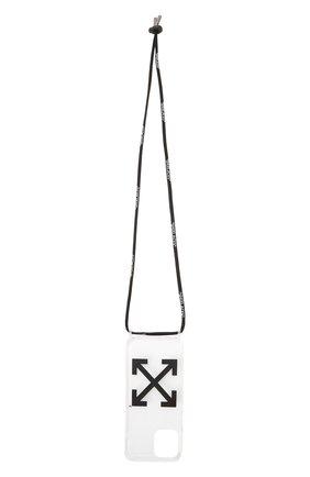 Чехол для iphone 12/12 pro OFF-WHITE прозрачного цвета, арт. 0MPA031F21PLA001 | Фото 1