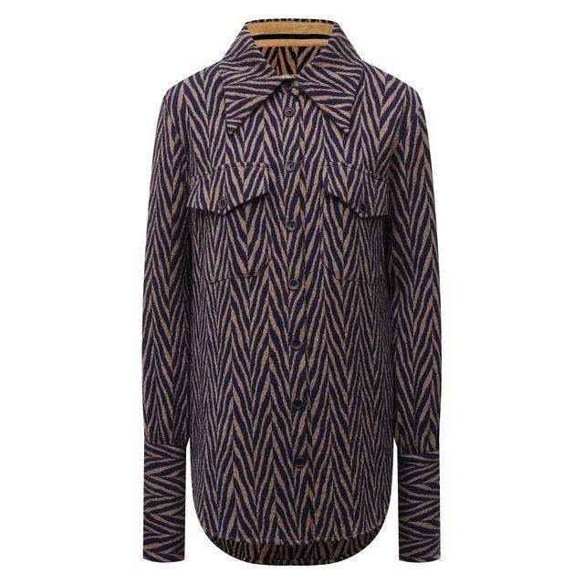 Шерстяная рубашка Uma Wang