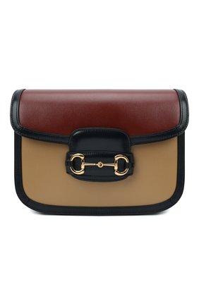 Женская сумка gg 1955 horsebit small GUCCI разноцветного цвета, арт. 602204/18YLG | Фото 1 (Размер: small; Материал: Натуральная кожа; Ремень/цепочка: На ремешке; Сумки-технические: Сумки через плечо)